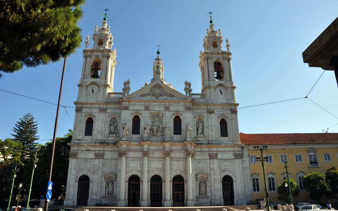 Basilica da Estrela, het heilige hart van Jezus