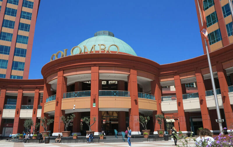 Centro Colombo: groot winkelcentrum