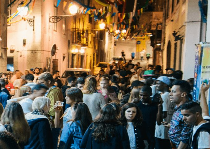 Uitgaan in Lissabon
