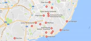 Lissabon Supermarkt