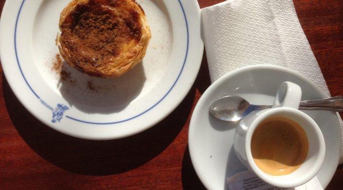 koffie in Lissabon