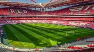 Het stadion van Benfica