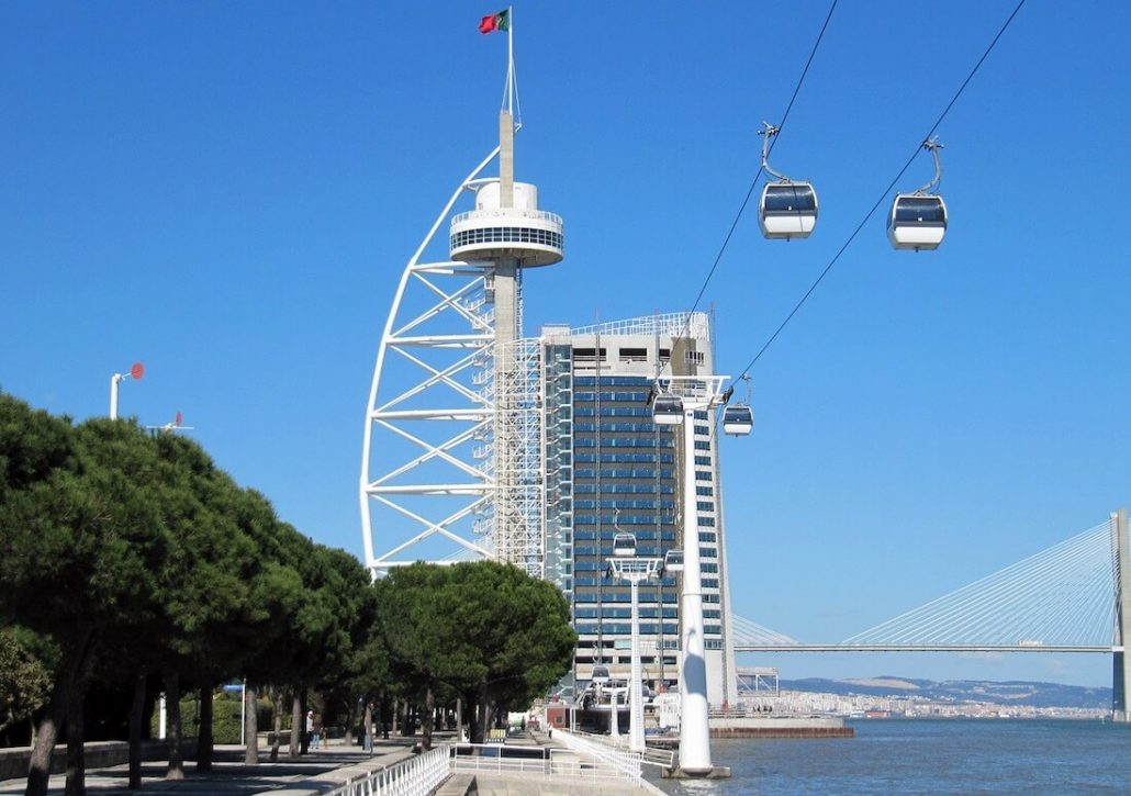 Mooiste parken van Lissabon