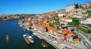 van Lissabon naar Porto