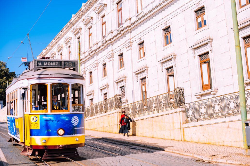 Tram 28 Lissabon (Eléctrico 28) 1