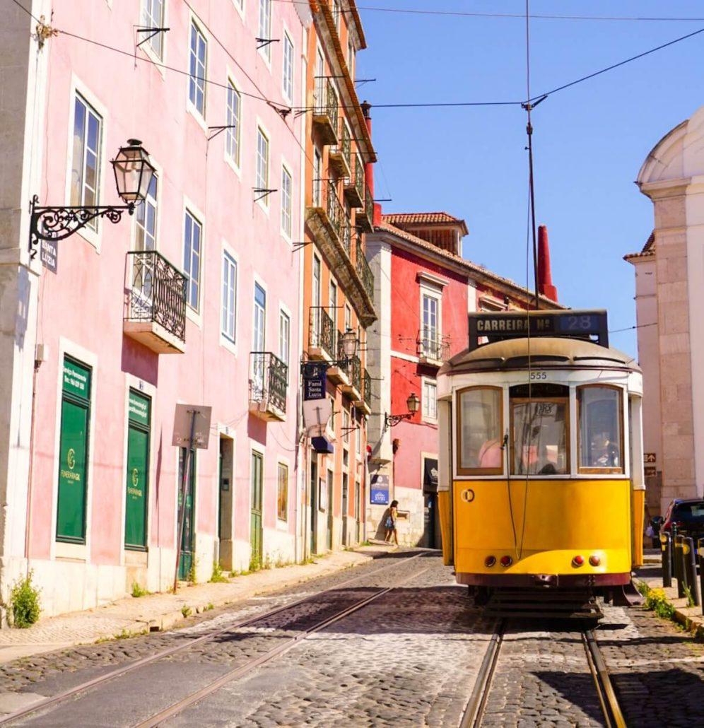 Tram 28 Lissabon (Eléctrico 28) 2
